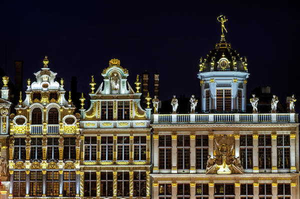 Photograph - The Grand Place by Pablo Lopez