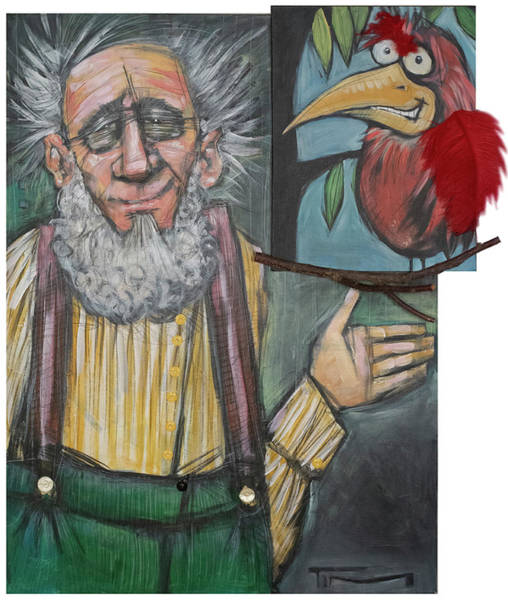 Painting - The Grandpa Mort And Sid Show by Tim Nyberg