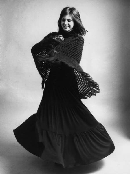 Evening Wear Photograph - The Granny Look by Evening Standard