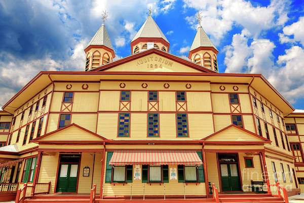 Photograph - The Great Auditorium In Ocean Grove by John Rizzuto