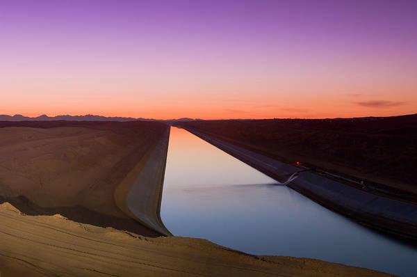 Yuma Photograph - The Great Canal Yuma Arizona by Rich Lasalle