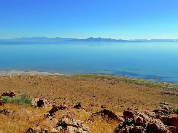Photograph - The Great Salt Lake by Dan Miller