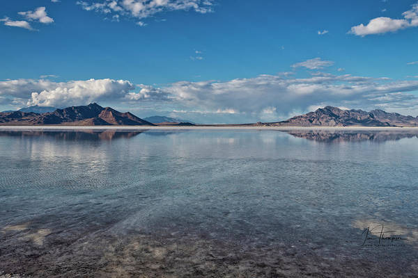 Photograph - The Great Salt Lake by Jim Thompson