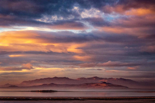 Wall Art - Photograph - The Great Salt Lake  by Robert Fawcett