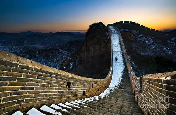 Wall Art - Photograph - The Great Wall by Jun Mu