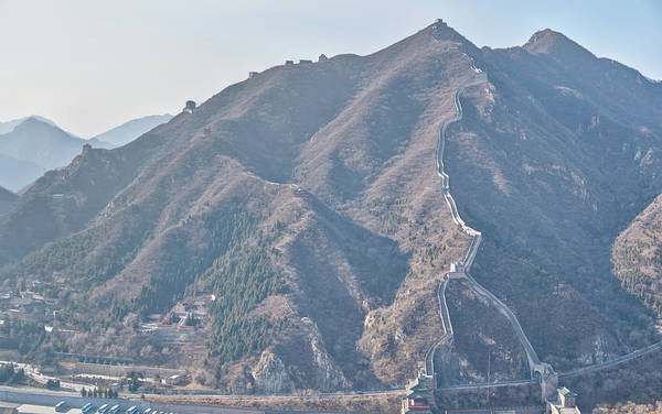 Photograph - The Great Wall by Nick Mares