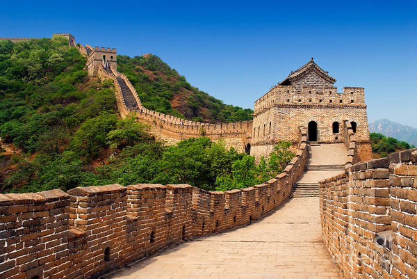 Wall Art - Photograph - The Great Wall Of China by Izmael