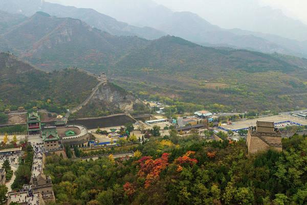 Photograph - The Great Wall Of China, North Of Beijing by Aashish Vaidya