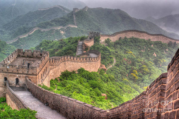 Wall Art - Photograph - The Great Wall Of China by Yuri Yavnik