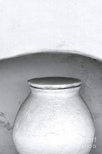 Clay Pot Photograph - The Greek Vessel by PrintsProject
