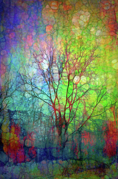 Cheery Digital Art - The Green And Blue Of It All by Tara Turner