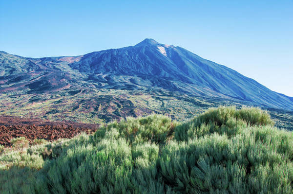 Photograph - The Green Side Of Mount Teide by Sun Travels