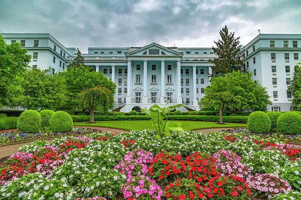 Wall Art - Photograph - The Greenbrier by Betsy Knapp