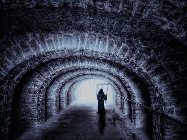 Wall Art - Digital Art - The Grim Reaper by ArtMarketJapan