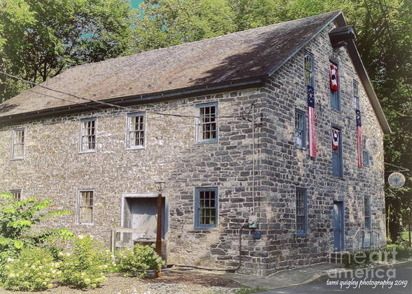 Photograph - The Grist Mill In Summer by Tami Quigley