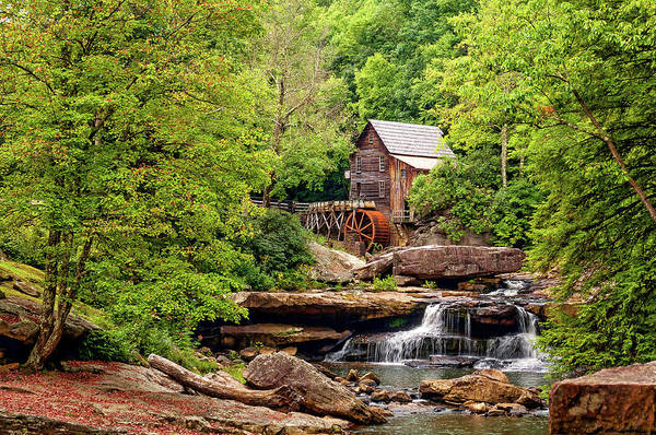 Steve Harrington Wall Art - Photograph - The Grist Mill by Steve Harrington