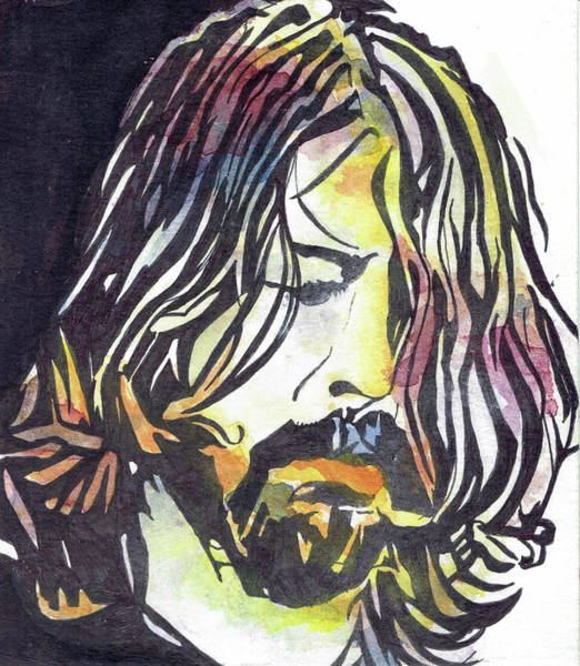 Dave Grohl Painting - The Grohl by Orange Finch Designs