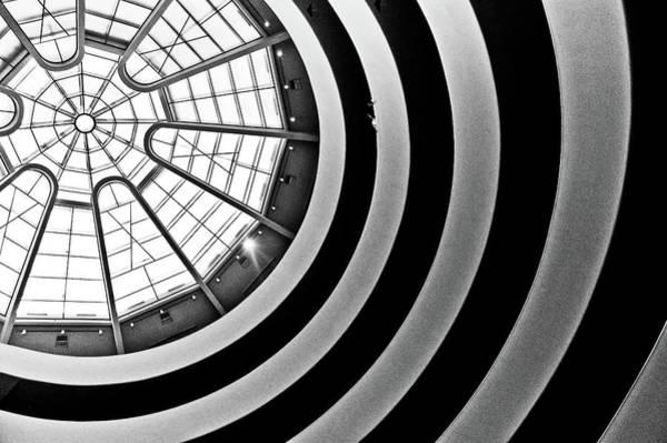 Solomon R. Guggenheim Museum Photograph - The Guggenheim Roof, New York by Photo By Stuart Gleave