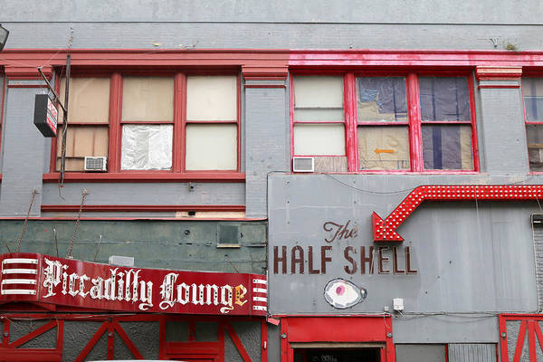 Wall Art - Photograph - The Half Shell Piccadilly Lounge by Art Block Collections