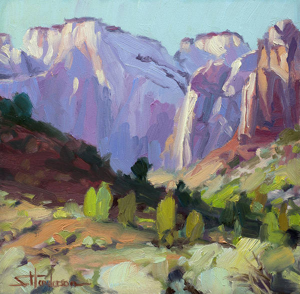 Painting - The Halls Of Zion by Steve Henderson