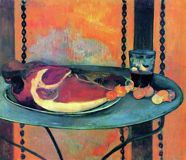 Gauguin Painting - The Ham - Digital Remastered Edition by Paul Gauguin