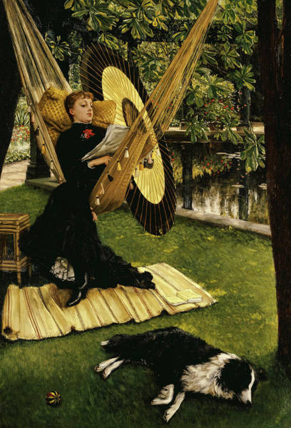 Wall Art - Painting - The Hammock, 1879 by James Tissot
