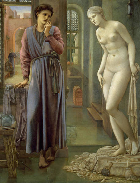 Wall Art - Painting - The Hand Refrains by Edward Burne-Jones