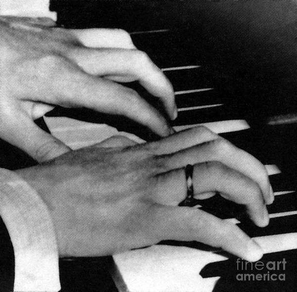 Wall Art - Photograph - The Hands Of Sergey Rachmaninov by Unknown