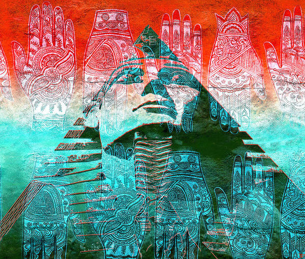 Wall Art - Mixed Media - The Hands That Built The Pyramids by David Lee Thompson