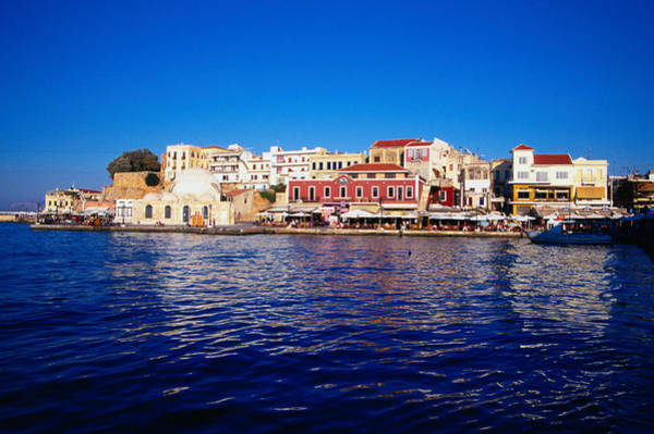 Wall Art - Photograph - The Harbour At Hania - Crete by Lonely Planet