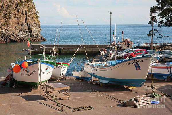 Wall Art - Photograph - The Harbour Of Caloura by Gaspar Avila