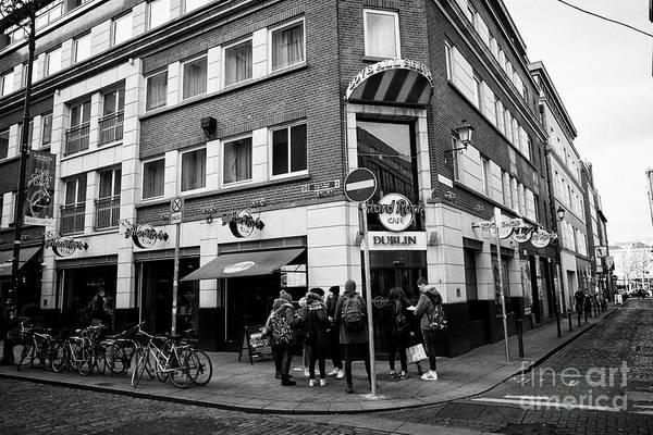 Wall Art - Photograph - The Hard Rock Cafe Fleet Street Temple Bar Dublin Republic Of Ireland Europe by Joe Fox