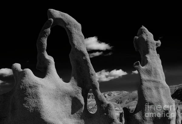 Hoodoos Photograph - The Harp And Staff by Mike Dawson