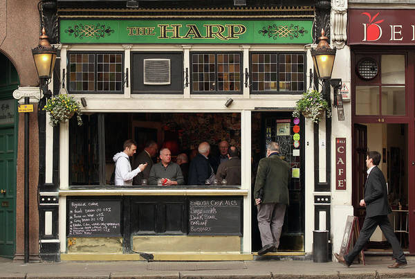 Topics Photograph - The Harp In Covent Garden Is Named by Oli Scarff