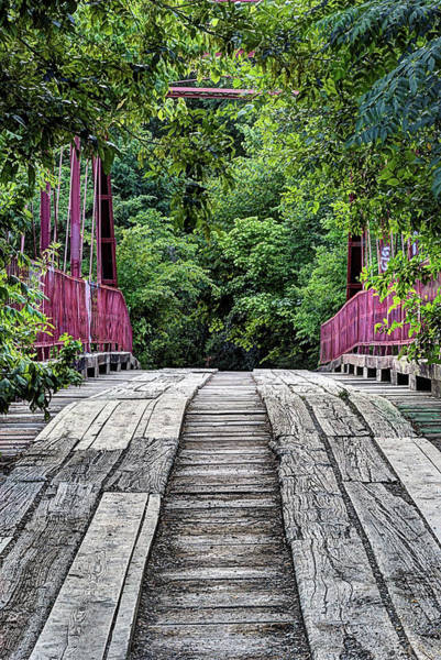 Photograph - The Haunted Alton Bridge by JC Findley