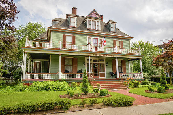 Somerset County Photograph - The Hayman House, Prince William Street, Princess Anne, Maryland by Mark Summerfield