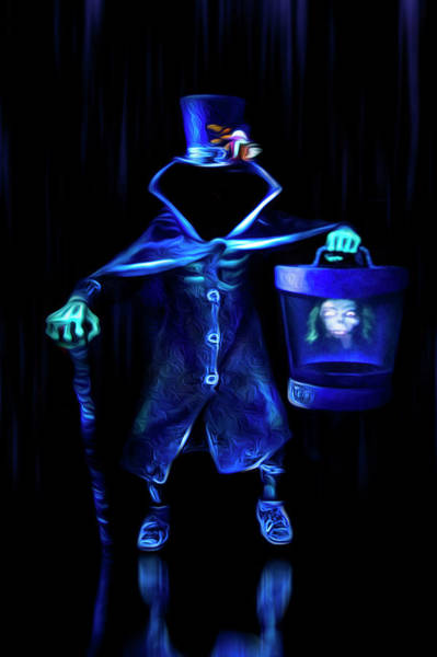 Wall Art - Photograph - The Headless Hatbox Ghost by Mark Andrew Thomas