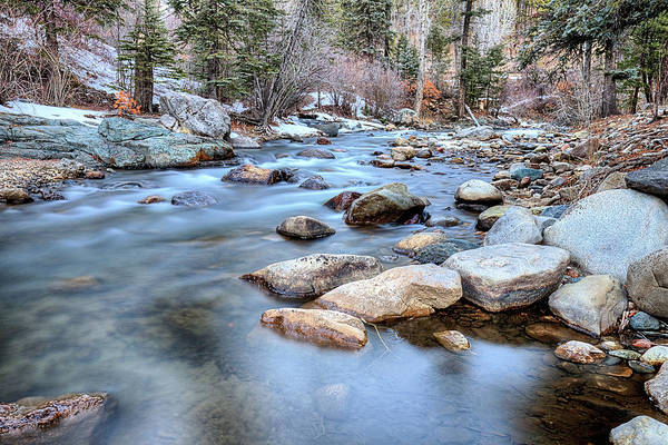 Photograph - The Headwaters Of The Pecos River by JC Findley