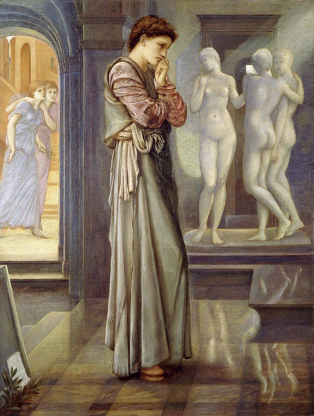 Cyprus Wall Art - Painting - The Heart Desires by Edward Burne-Jones