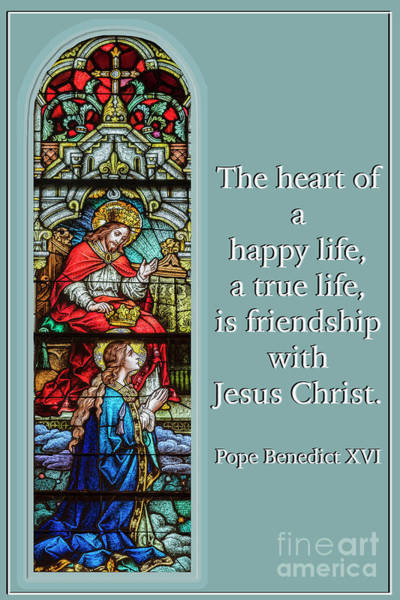 Wall Art - Photograph - The Heart Of A Happy Life by Bonnie Barry