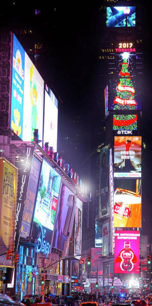 Wall Art - Photograph - The Heart Of Times Square by Mark Andrew Thomas