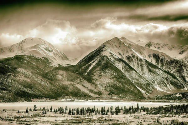 Wall Art - Photograph - The High Country - Antique by Eric Glaser