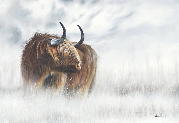 Painting - The Highlander by Peter Williams