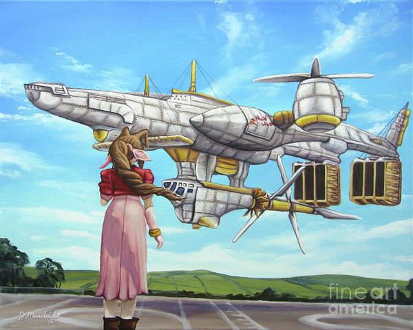Painting - The Highwind by Joe Mandrick
