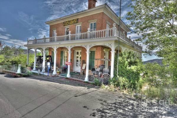 Wall Art - Photograph - The Historic Mackay Mansion by Thomas Todd