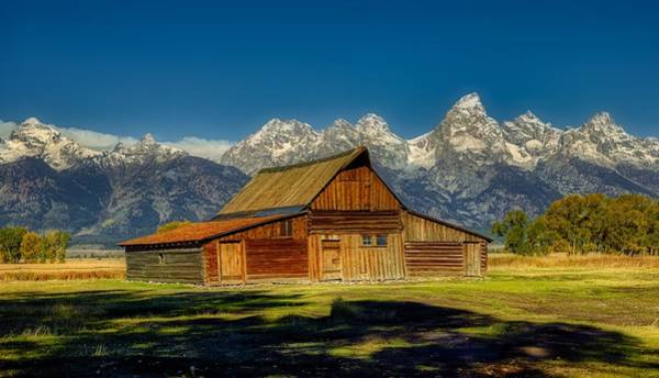 Wall Art - Photograph - The Historic Moulton Barn by Mountain Dreams
