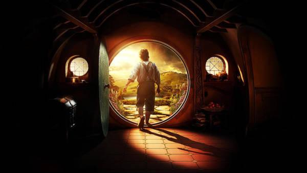 Wall Art - Digital Art - The Hobbit An Unexpected Journey 2012 1 by Geek N Rock