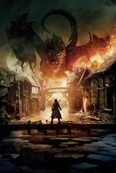 Wall Art - Digital Art - The Hobbit The Battle Of Five Armies 2014 1 by Geek N Rock