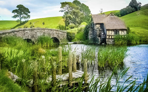 Photograph - The Hobbiton by Lyl Dil Creations