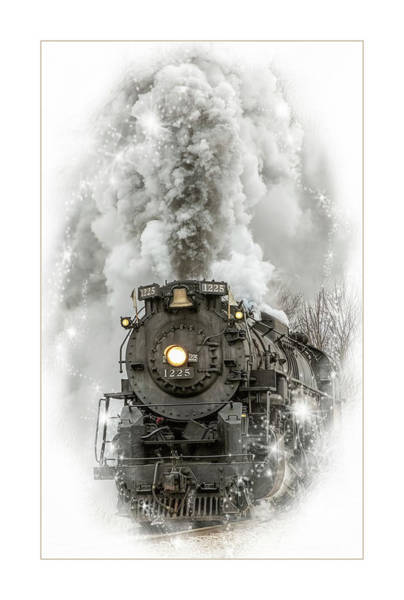 Marquette Photograph - The Holiday Express by Pat Eisenberger